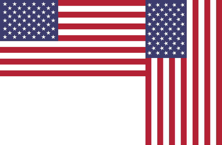 if the u s flag wore vertical stripes would it give off the